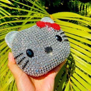 Hellokitty Crystal clutch purse